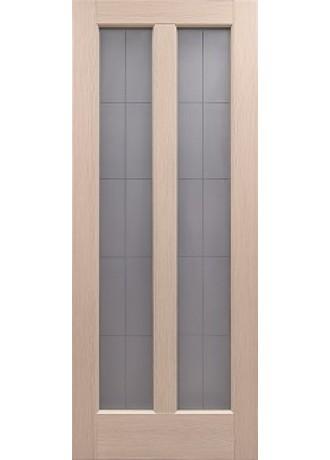 Межкомнатная дверь Sсhlager 1.35 (Беленый дуб) ПО