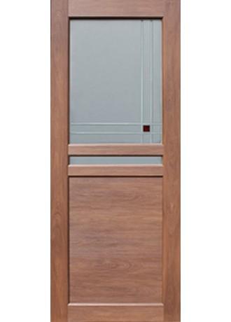 Межкомнатная дверь Sсhlager 1.51 (Махагон) ПО