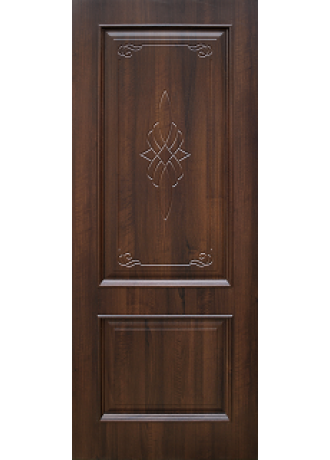 Межкомнатная дверь Schlager Vilora T (Тиковое дерево) ПГ