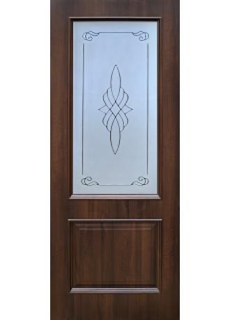 Межкомнатная дверь Schlager Vilora T1 (Тиковое дерево) ПО