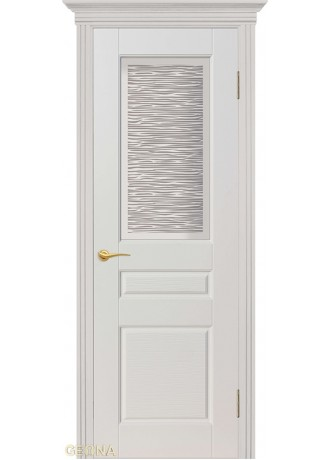 Межкомнатная дверь Geona Блюз 2/1 (Крем) ПО