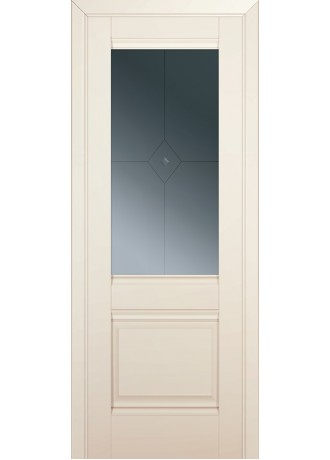 Межкомнатная дверь ProfilDoors 2U (Магнолия сатинат) ПО