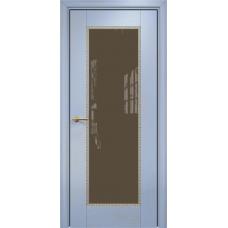 Александрия 1 голубая эмаль патина золото триплекс бронзовый