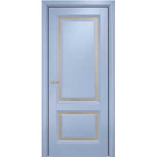 Бристоль эмаль голубая МДФ сатинат бронза